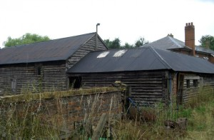 Bury Farm before work began