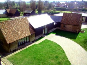 Cawcutts close aerial view