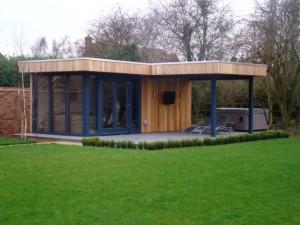 Grove Farm Close Summer House