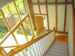 Hoo Barn Stairs