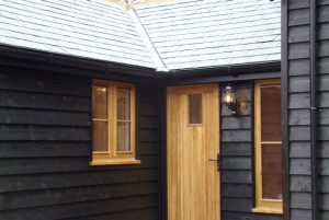 Bury Farm front door